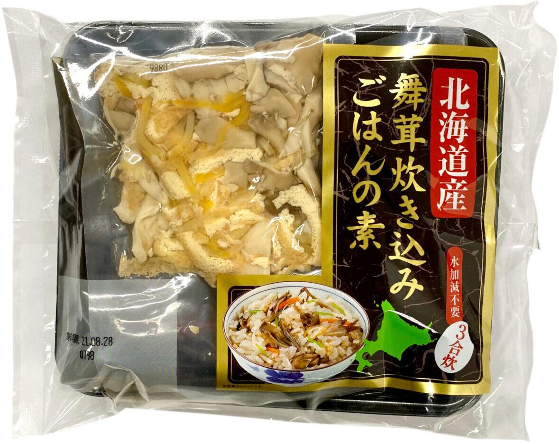 北海道産舞茸炊き込みご飯の素(3合)